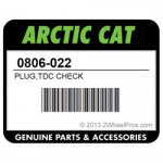 Заливная пробка крышки сцепления Arctic Cat 0806-022
