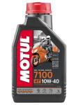 Моторное масло синтетическое Motul 7100 4T 10W40 104091   104092