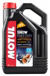 Масло моторное синтетическое для снегоходов MOTUL SNOWPOWER 2T SYNTH 4Л 108210