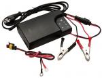 Зарядное устройство для аккумуляторов 12В ЛБ-ЭЛЕКТРО с доп кабелем