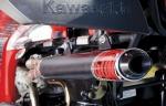 Полная выхлопная система BigGun серия EVO UTILITY для Kawasaki BRUTE FORCE 300  650  750
