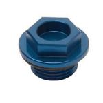 Заливная пробка магнит синяя Yamaha YFZ 450 04+  / Raptor 350 Tusk Oil Filler Plug Blue 1366530001