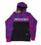 Толстовка с капюшоном FullT Horizont Фиолетово - Черная 1601-302-010