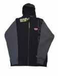 Толстовка с капюшоном FullT T Черно - Серая 1601-401-011