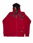 Толстовка с капюшоном FullT Cristal Красная 1601-402-004