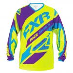Джерси FXR Clutch MX Hi-Vis/Purple/Blue 173308-6580-10