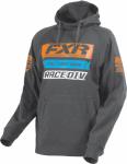 Толстовка с капюшоном FXR Race Division Серая 173321-0630