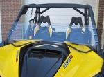 "Лобовое стекло 1 2 UTV windshields для CAN-AM MAVERICK 13"" TALL MADE IN USA"