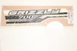 Наклейка бака (левая) оригинальная для квадроцикла Yamaha Grizzly 700 / 2ES-F1782-00-00
