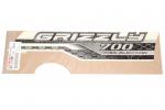 Наклейка бака (правая) оригинальная для квадроцикла Yamaha Grizzly 700 / 2ES-F1782-00-00