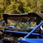 Стекло заднее виниловое для Yamaha YXZ 1000R (2HC-K750A-V0-00)