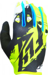 Перчатки Fly Racing Kinetic Черный/Лайм 370-41511 370-41512