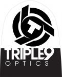 Шапка TRIPLE 9 logo beanie (черный/белый) 37-2701