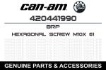 Болт крепление ведомого вариатора BRPCan-Am DEFENDER MAVERICK X3 M10X61 420441990