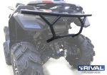 Бампер задний Stels Guepard 800G (2014-) + комплект крепежа 444.6727.1