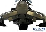 Комплект защиты днища Yamaha Phazer MT — X (2 части)(2012-)+ крепеж 444.7106.1