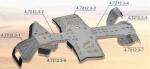 Комплект защиты днища Rival для Can-Am Outlander G2 max (7 частей) 444.7212.3