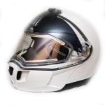 Шлем зимний MODULAR 2 PROMO белый с электроподогревом 2XL 4476131401 БРАК  СЗАДИ