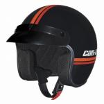 Шлем открытый ретро Can-Am ST-5 Open Face Vintage черный S 4478620490 БРАК - ПОТЕРТОСТИ