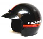 Шлем открытый ретро Can-Am ST-5 Open Face Vintage черный L 4478620990