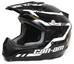 Шлем кроссовый Can-Am X-1 Cross Mission чернобелый 2XL 4479901401