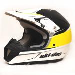 Шлем кроссовый Ski-Doo XC-4 Cross Drift Helmet белый с рисунком М 4482520610