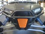 Передний бампер Alba Racing для Polaris RZR-1000 500-R2-BO оранжевый