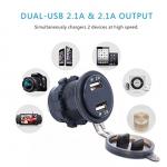 Разъем USB 2,1А / 5031N-GR