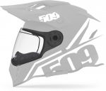 Стекло прозрачное с подогревом для шлема 509 Delta R3 / 509-HEL-DACC-SHC