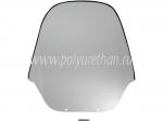 Стекло ветровое для квадроцикла (прозрачная часть из комплекта VIP-AIR) 55-44-50913P