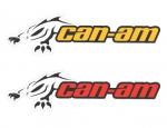 Наклейка Can-Am 704901480 (15х5)