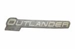 Наклейка облицовки приборной панели квадроцикла Can-Am Outlander XT 704902729