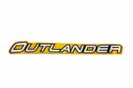 Наклейка на переднюю арку для квадроцикла BRP Can-Am Outlander 2012-2014 704902743