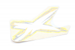 Наклейка крыла правая квадроцикла Can-Am Outlander 650/800/1000 XMR  704903061