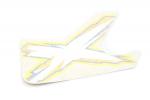 Наклейка крыла левая квадроцикла Can-Am Outlander 650/800/1000 XMR 704903062