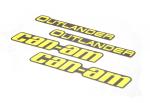 Наклейки расширителей арок Can Am BRP Digital Camo Black 704905083 704903498 704904899 704904920 704904338 704906478