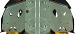 Защита подножек BRP Can-Am Renegade G1 715000686