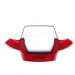 Стекло ветровое красное BRP Can-Am Outlander (06-12) 715000324 715001016