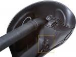 Разъем подогрева шлема пассажира снегохода BRP Ski Doo 860200882