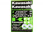 Наклейки универсальные Kawasaki (42 см Х 28 см) 862-21100