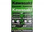 Наклейки универсальные Kawasaki (48 см Х 30 см ) 862-21102