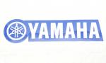 Наклейка универсальная Yamaha (15,5 см Х 3,5 см) 862-4504
