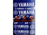 Наклейки универсальные Yamaha (48 см Х 31,5 см) 862-51101