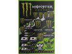 Наклейки универсальные Kawasaki Monster Energy (47 см Х 32 см) 862-90102