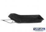 Сани-волокуши 2100 с отбойником, с накладками S.0016.1.BP-NK