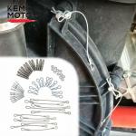 Комплект переделки быстросъемной крышки вариатора Kemimoto для CanAm Maverick X3 B1001-00101 420212505 420441573