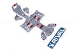Защита днища (комплект) для квадроцикла BRP Can-Am Outlander G2 XMR 2017+, RIVAL 444.7239.1