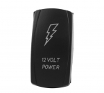 Кнопка включения/выключения доп. света для ATV/UTV/Снегоходов 12 VOLT POWER SuperATV LTS-016