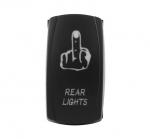 Кнопка включения/выключения доп. света для ATV/UTV/Снегоходов REAR LIGHTS SuperATV LTS-017