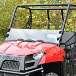 Стекло лобовое 1/2 Polaris Ranger 400/500/570 Kemimoto FTVWS005